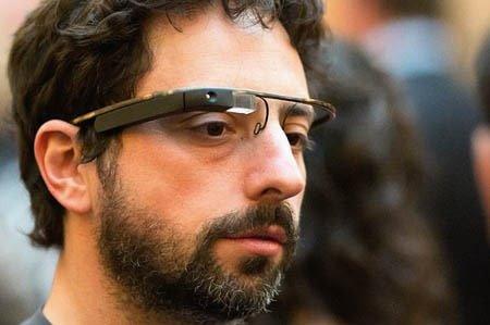 Ochelari Google - Sergey Brin