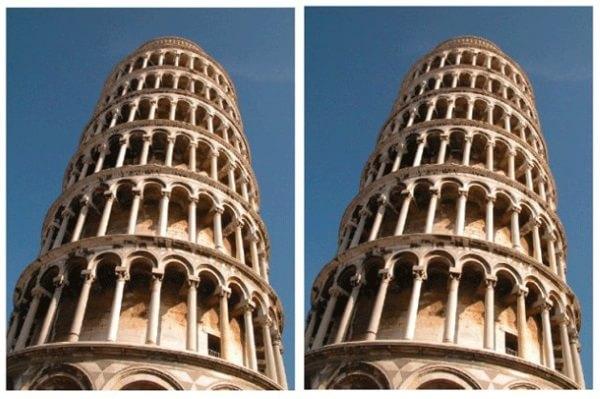 Turnuri înclinate