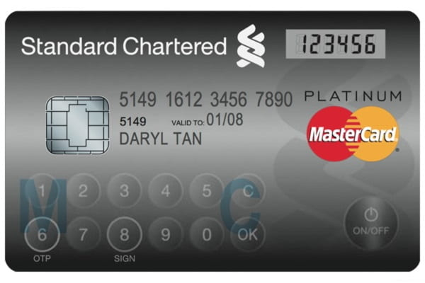 Card cu parolă unică - Master Card