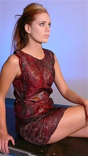 Rochie din vin roșu