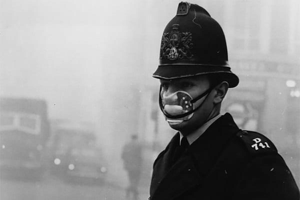Smog la Londra