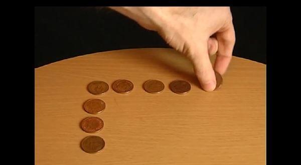 Rezolvare la bani mărunți - Mutare monedă