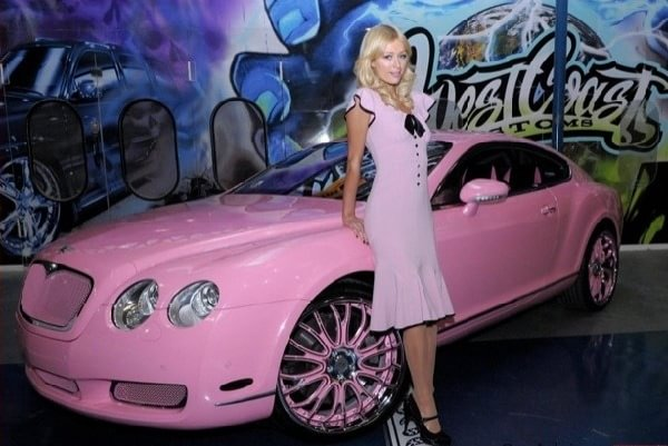 Bentley pearl pink