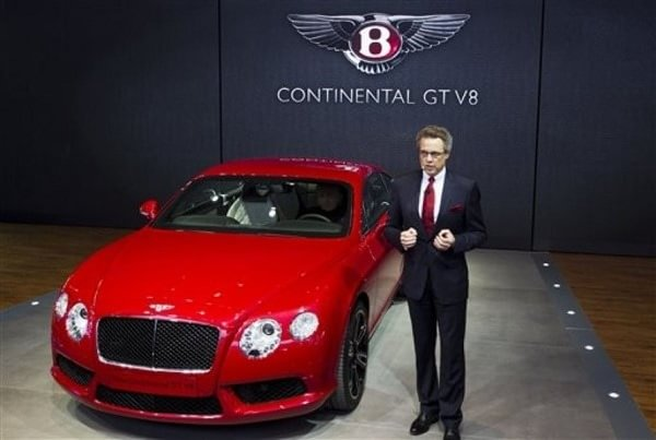 Bentley red dragon