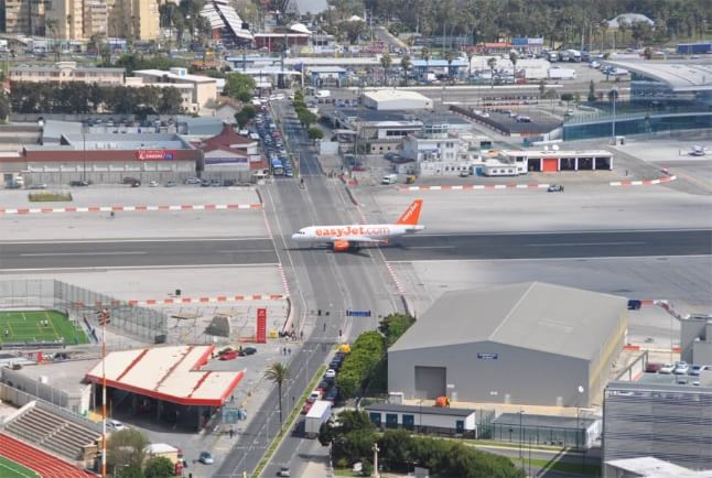 Aeroportul din Gibraltar 1