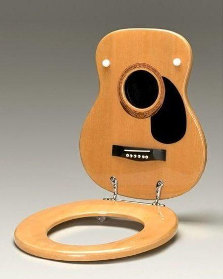 Chitara scaun de toaletă