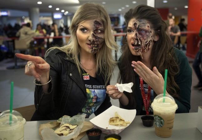Machiaj zombie