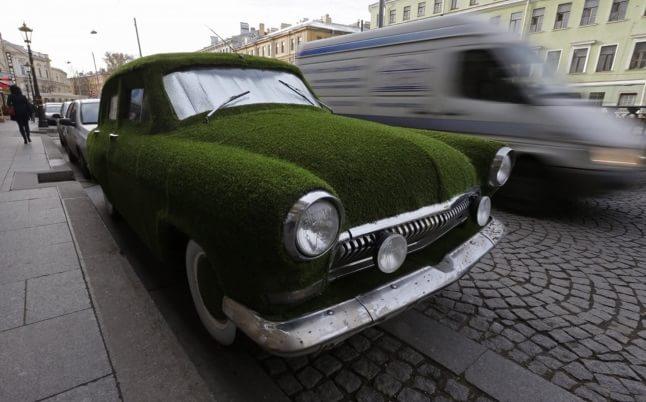 Volga cu iarbă