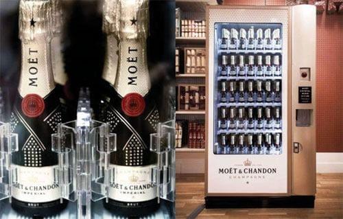 Automat cu șampanie