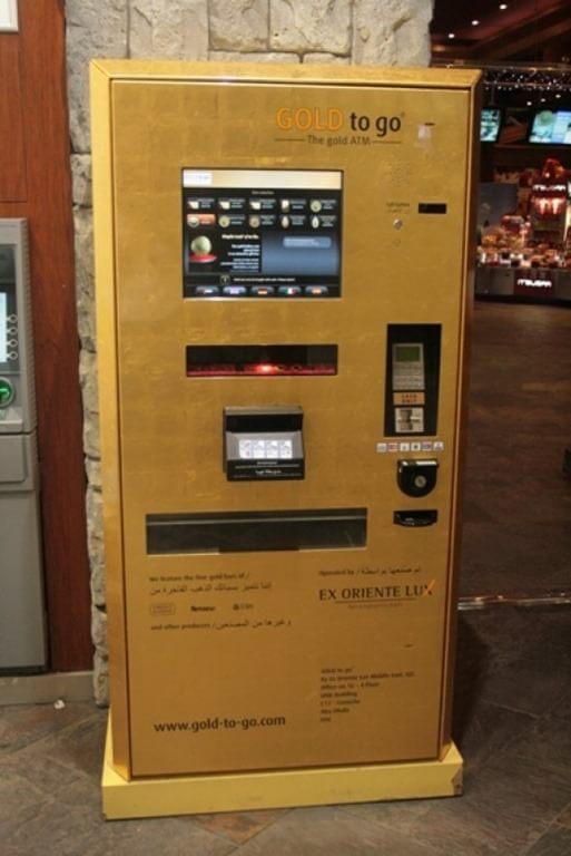 Automat cu aur