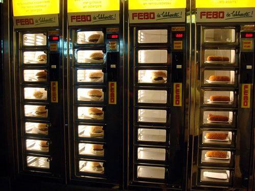 Automat cu burgeri