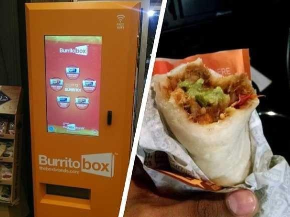 Automat cu burrito