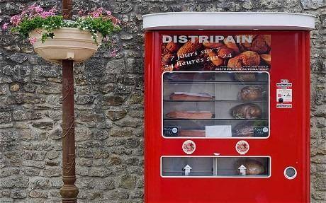 Automat pâine