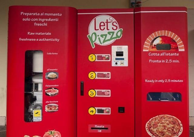 Automat pizza