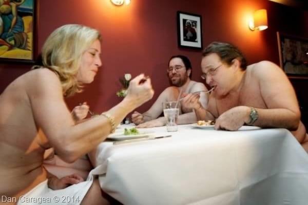 Restaurante unice - Restaurant nud