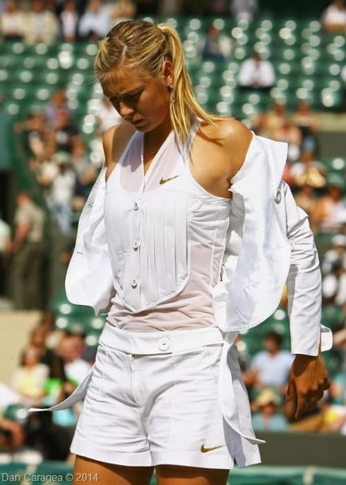 Sportul alb - Maria Sharapova