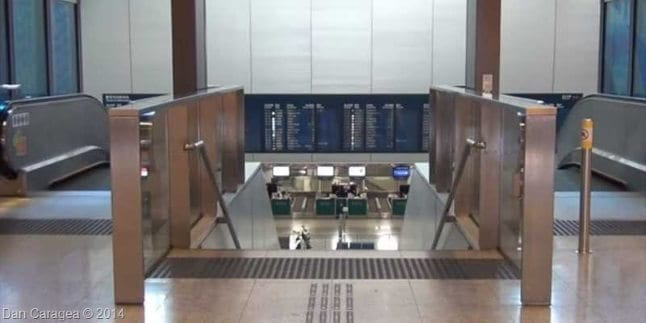 Check-in la metrou 1