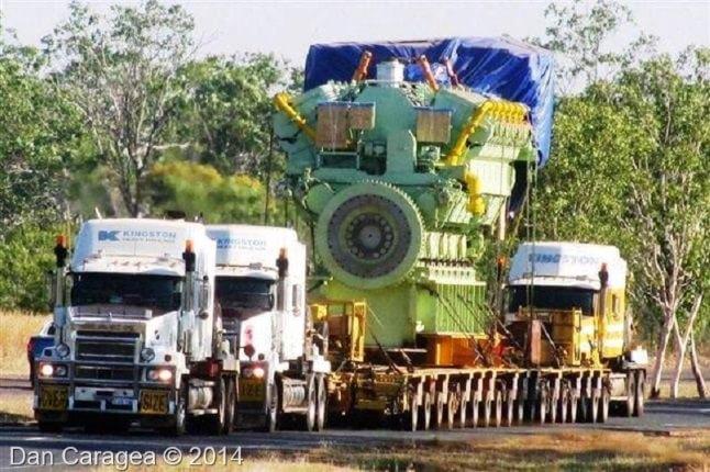 Transporturi excepționale - Transporturi speciale 2