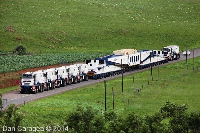 Transporturi excepționale - Transporturi speciale 35