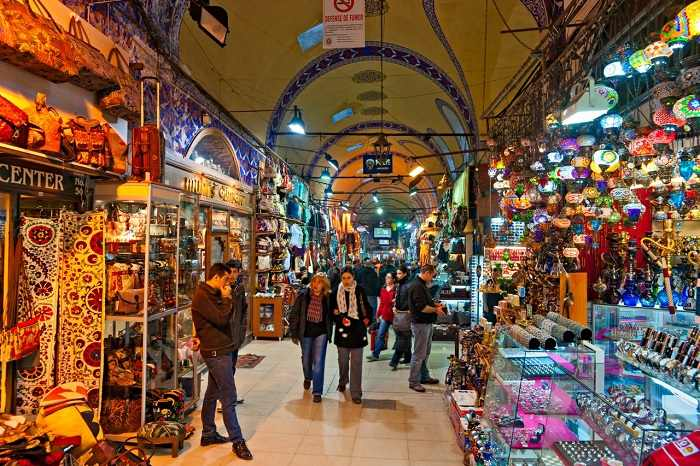 Atracții turistice - Marele bazar din Istanbul