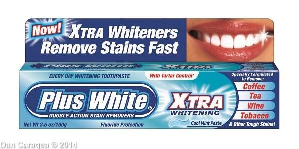 Pastă de dinți cu efect de albire – fără efect