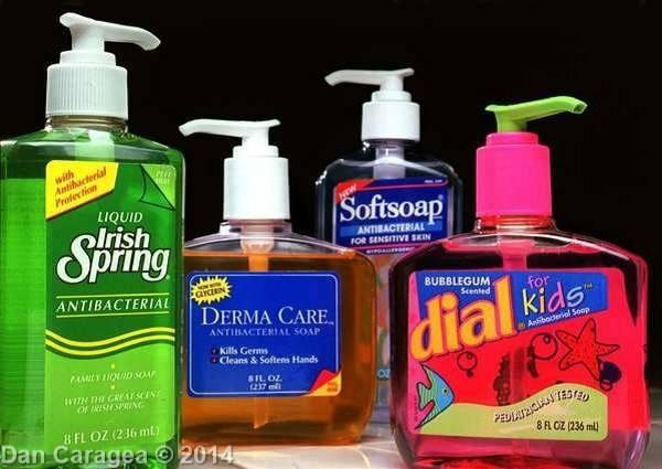 Săpunuri antibacteriene – fără efect