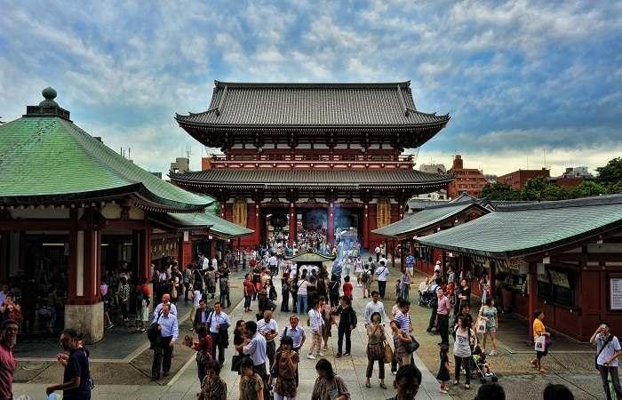 Atracții turistice - Templul Senso-ji