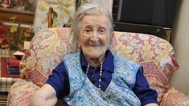 Cele mai bătrâne femei din lume - Emma Morano