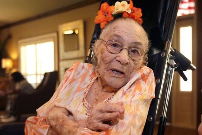 Cele mai bătrâne femei din lume - Gertrude Weaver