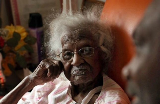 Cele mai bătrâne femei din lume - Jeralean Talley
