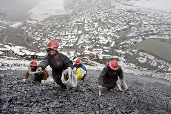 La Rinconada-mineri