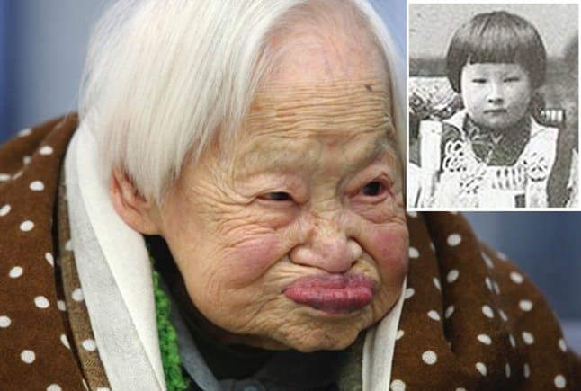 Cele mai bătrâne femei din lume - Misao Okawa