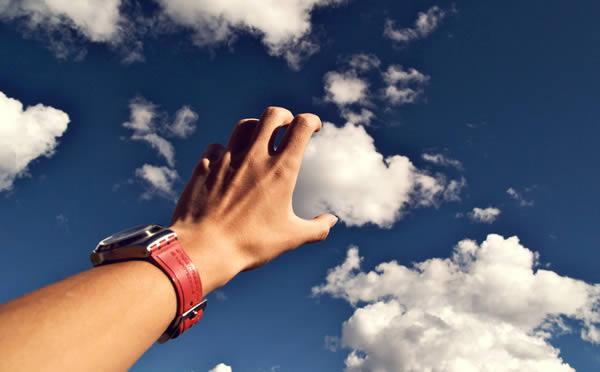 Fotografii în perspectivă - Prinderea unui nor