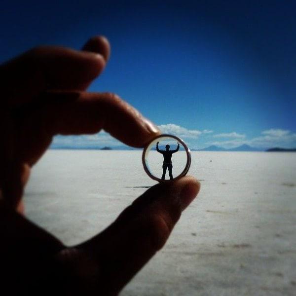 Fotografii în perspectivă - Trans prin inel