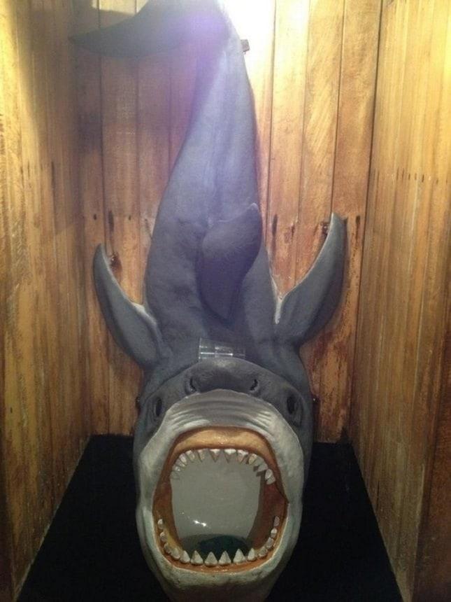 Pisoar rechin