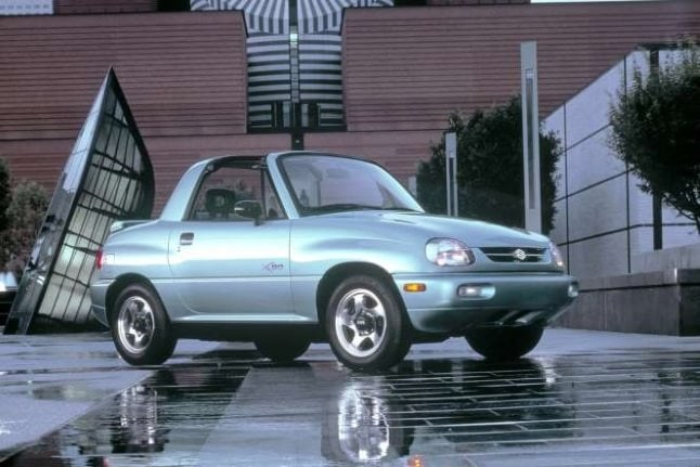 Cele mai urâte autoturisme - SUZUKI X 90
