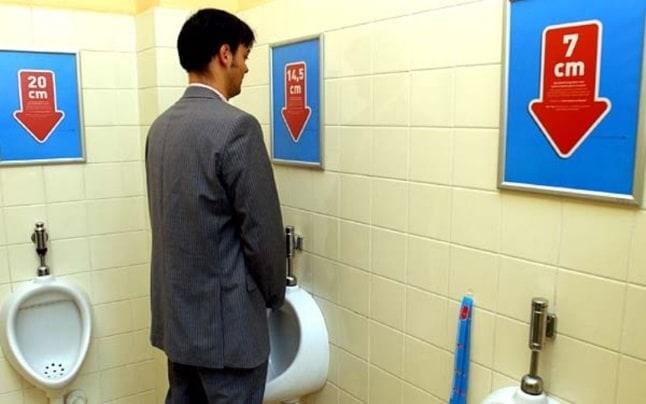 WC bărbați personalizat