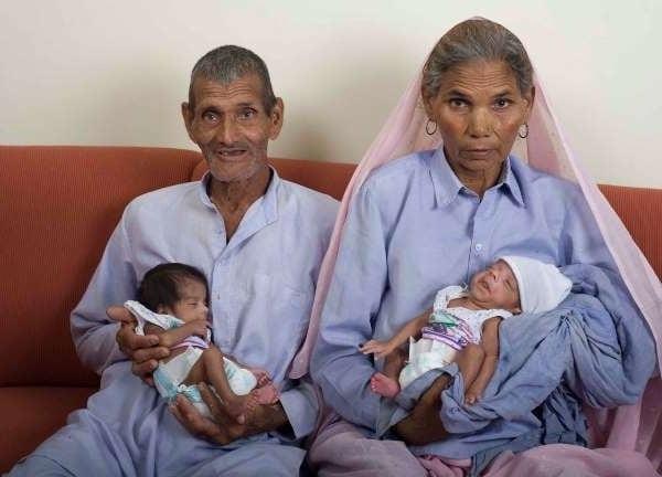 Maternitatea - Cea mai bătrână mamă