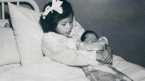 Maternitatea - Cea mai tânără mamă