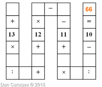 Test de perspicacitate matematică - Aritmetică în șir