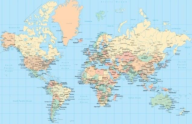 Capitalele lumii