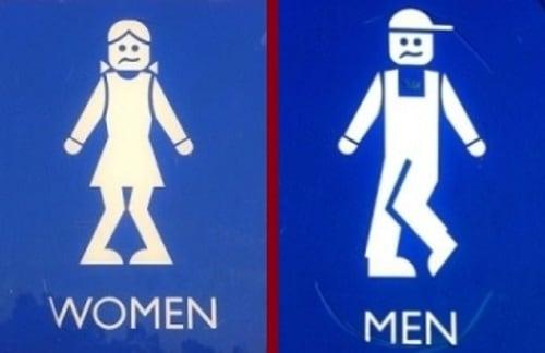 Semn toaletă Australia