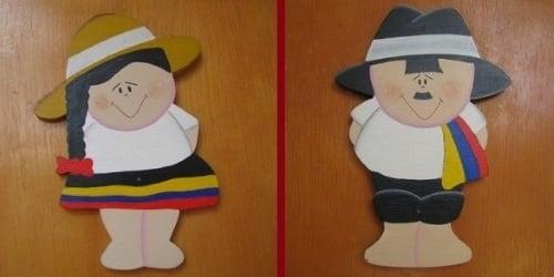 Semn toaletă Columbia