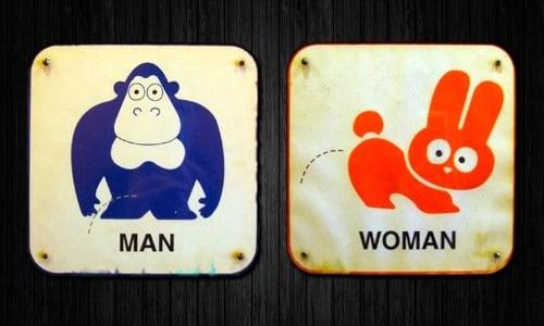 Semn toaletă Coreea de Sud 1