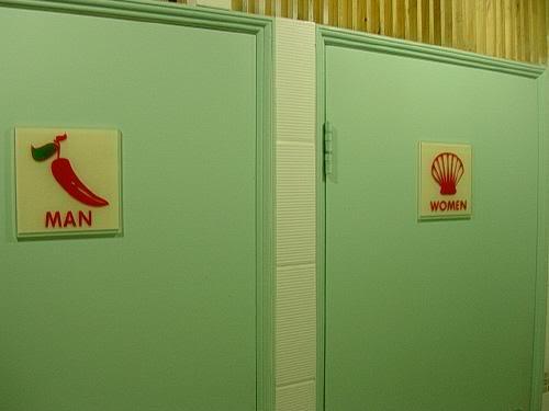 Semn toaletă Italia