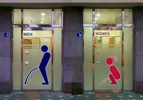 Semn toaletă Marea Britanie
