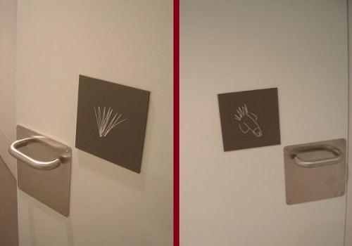 Semn toaletă Spania 1