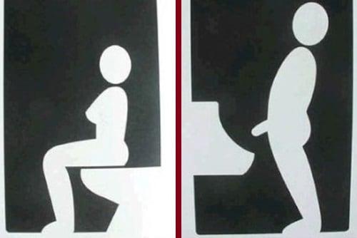 Semn toaletă Spania 2