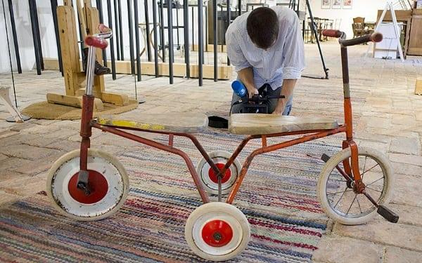 Triciclete pentru gemeni