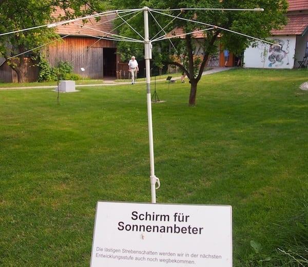 Umbrelă pentru iubitorii de soare